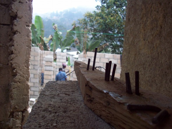 Haiti Home Construction Site