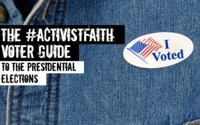 activist faith, presidential elections, christian voter guide