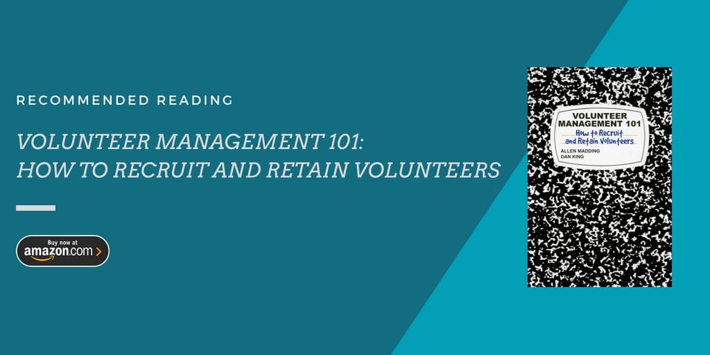leading volunteers, volunteer management