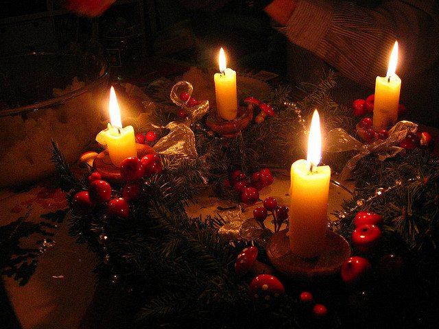 Advent wreath, Christmas