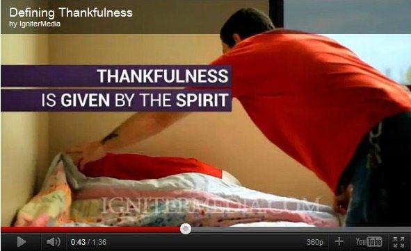 [video] defining thankfulness