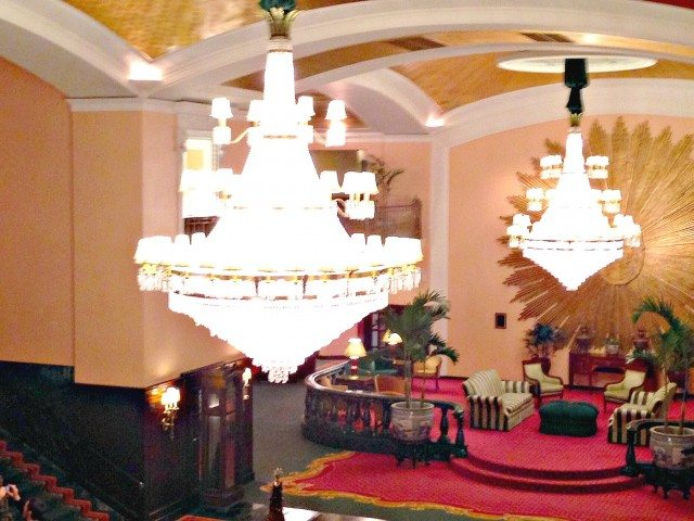 grand chandeliers