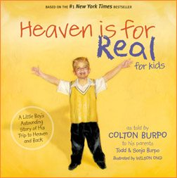 book review: heaven is for real for kids