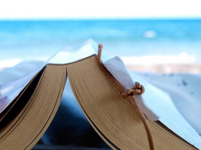 summer, reading, list, beach