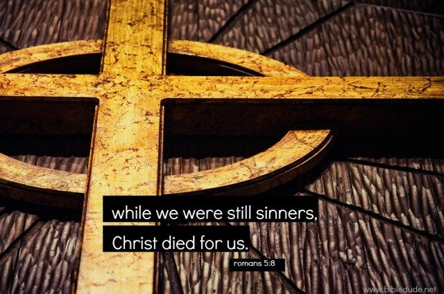 while we were still sinners